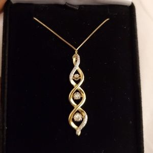 Kay Jewelers 10K YG Diamond Necklace